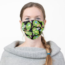 RICK AND MORTY™ | Falling Through Portals Pattern Adult Cloth Face Mask