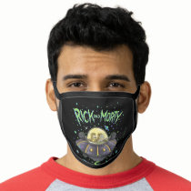 RICK AND MORTY™ | Illustrated Space Flight Graphic Face Mask