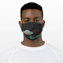 RICK AND MORTY™ | Rick Constellation Pattern Adult Cloth Face Mask