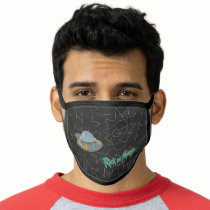 RICK AND MORTY™ | Rick Constellation Pattern Face Mask