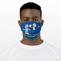 RICK AND MORTY™ | Time To Get Schwifty Adult Cloth Face Mask