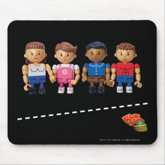 Rick and Steve - Dark Mouse Pad