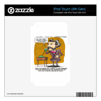 Rick London Funny Alexander Bell Phone Prank iPod Touch 4G Decal