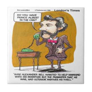 Rick London Funny Alexander Bell Phone Prank Tile