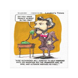 Rick London Funny Alexander Bell PhonePrank Print