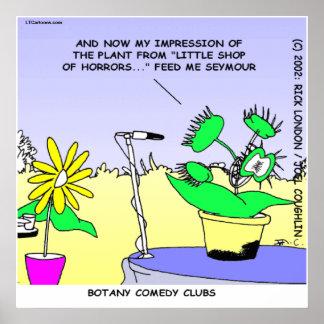 Rick London Funny Botany Comedy Club Poster
