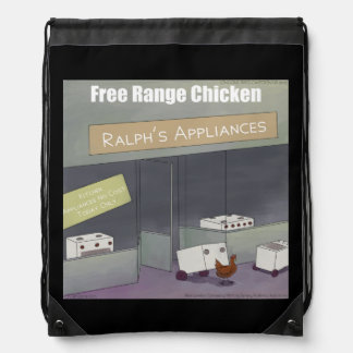 Rick London Funny Free-Range Chicken Backpack