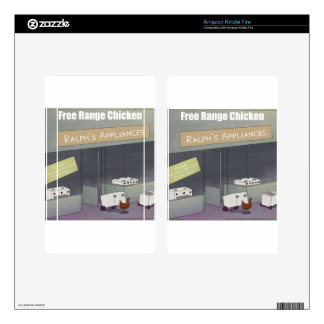 Rick London Funny Free-Range Chicken Skin For Kindle Fire