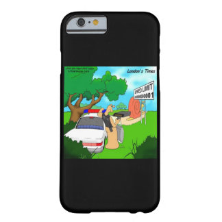 Rick London Funny Slug Traffic Cop iPhone 6 Case