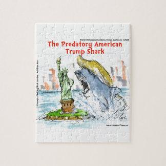 Rick London Funny Trump Shark Puzzle