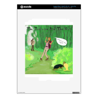 Rick London Turtle And The Wig Hair Funny iPad 3 Decal
