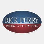 Rick Perry 2012 Colcomanias Óval