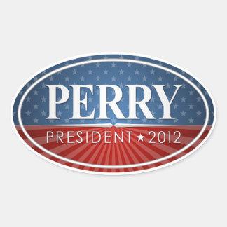Rick Perry 2012 Colcomanias Ovaladas
