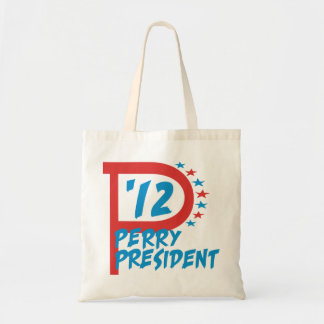 Rick Perry 2012 for President Canvas Bags