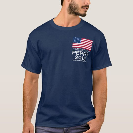 Rick Perry 2012 for President T-Shirt