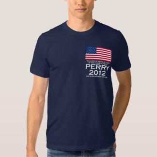Rick Perry 2012 para el presidente Camisas