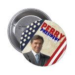 Rick Perry 2012 Pin Redondo De 2 Pulgadas