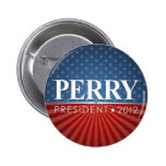 Rick Perry 2012 Pinback Button