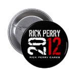 Rick Perry 2012 Pins