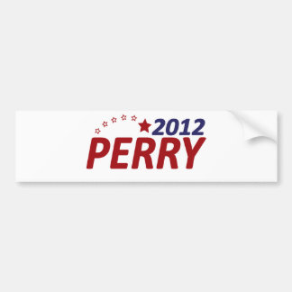 Rick Perry 2012 Star Car Bumper Sticker