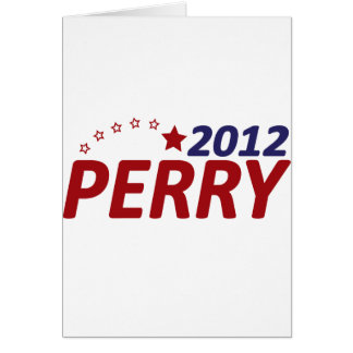 Rick Perry 2012 Star Card
