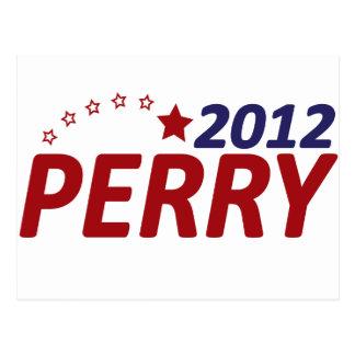 Rick Perry 2012 Star Postcard