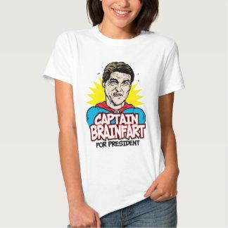 Rick Perry Captain Brainfart Shirt