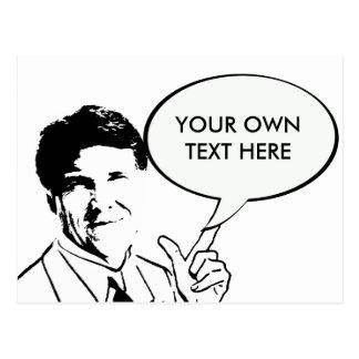 Rick Perry de encargo Postales