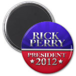 Rick Perry For President 2012 Refrigerator Magnets