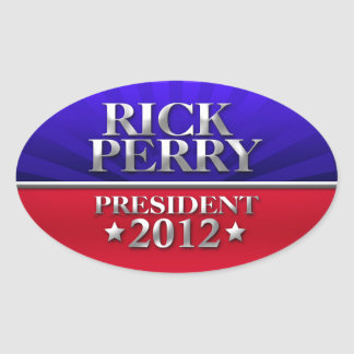 Rick Perry For President 2012 Stickers