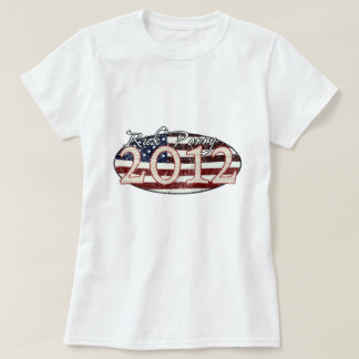 Rick Perry for President 2012 T-shirt