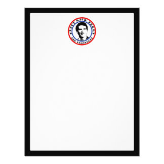 """Rick Perry for President 8.5"""" X 11"""" Flyer"""