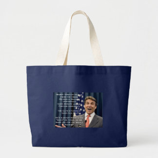 Rick Perry for President!?!?!?! Large Tote Bag