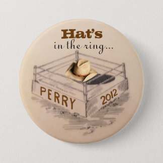 Rick Perry for President Pinback Button