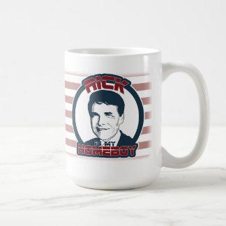 Rick Perry is my Homeboy Mug (flag edition)