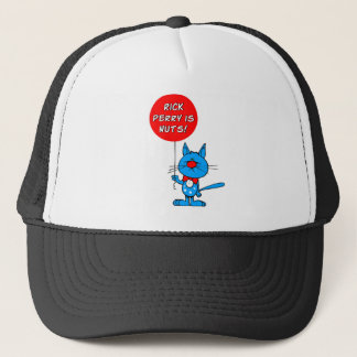 Rick Perry is nuts! Trucker Hat