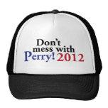 Rick Perry para el presidente 2012 Gorras