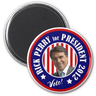 Rick Perry para el presidente 2012 Iman Para Frigorífico