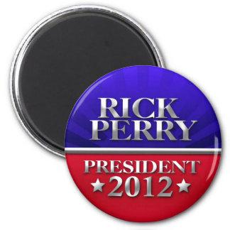 Rick Perry para el presidente 2012 Imanes De Nevera
