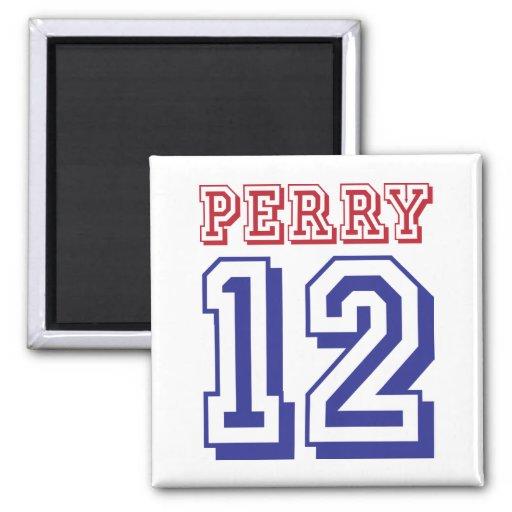 Rick Perry para el presidente 2012 Imanes