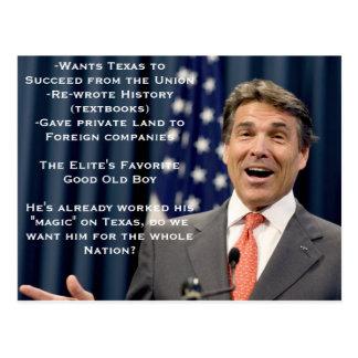 ¡Rick Perry para el presidente!?!?!?! Postal