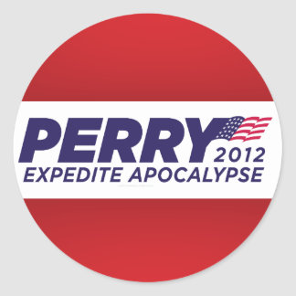 Rick Perry Parody Stickers