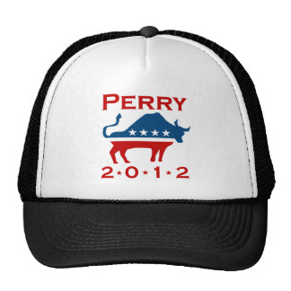 RICK PERRY PARTY 2012 TRUCKER HAT