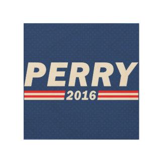 Rick Perry, Perry 2016 Impresiones En Madera