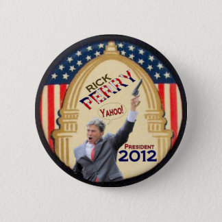 Rick Perry President 2012 Button
