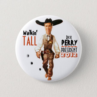 Rick Perry President 2012 Pinback Button