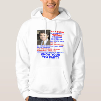 Rick Perry, Tea Party Governor of Texas Hoodie