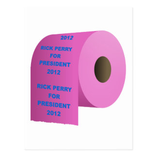 Rick-Perry-toilet_paper_roll Postcard