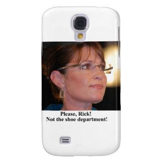 Rick Perry worries Sarah Palin Galaxy S4 Cases