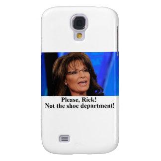 Rick Perry worries Sarah Palin (sm img) Galaxy S4 Cover